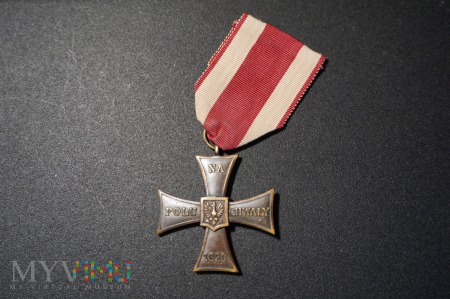 Krzyż Walecznych-wykonanie Stanisława Owczarskiego