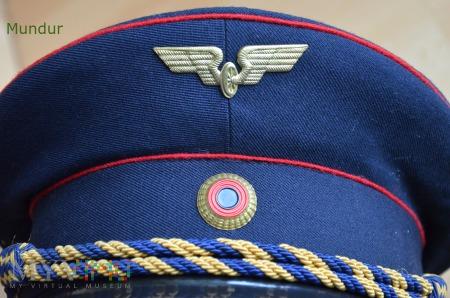Niemiecka czapka kolejarza