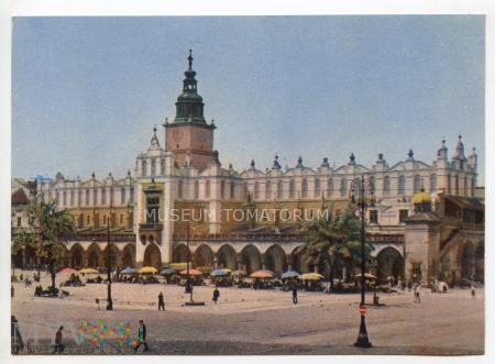 Kraków - Rynek - Sukiennice - lata 60-te