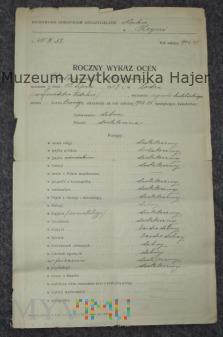 Państwowe Seminarium Nauczycielskie w Kcyni 1925 r