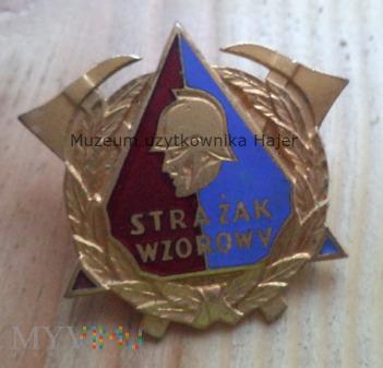 Wzorowy Strażak - odznaka