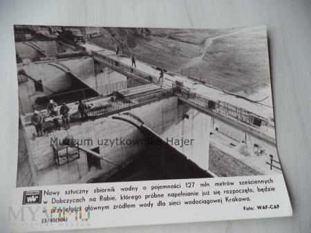 Dobczyce zbiornik wodny na Rabie