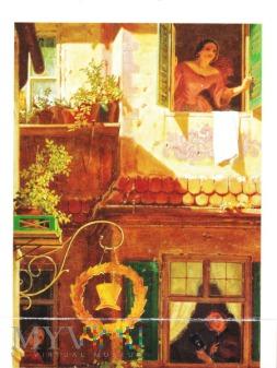 Der Briefbote im Rosenthal