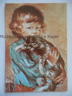 Adamczyk Marian - Grzegorz z kotem