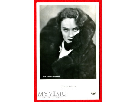 Marlene Dietrich JSA Marlena nr 229
