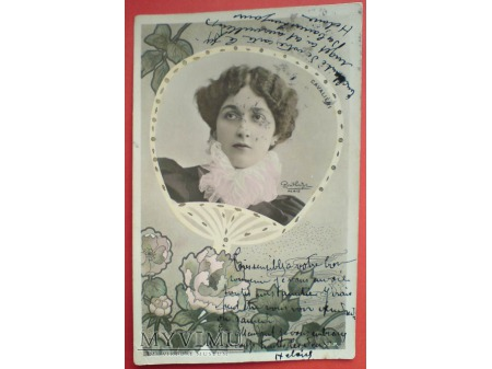 1904 Lina CAVALIERI OPERA REUTLINGER secesja