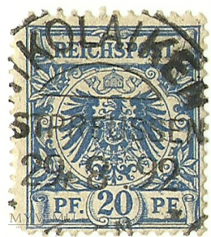 20 pfennig Mikołajki 1892 r.