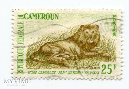 Lew Kamerun Cameroun Park WAZA znaczek