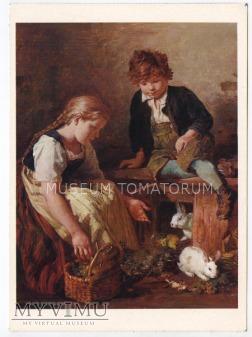 Schlesinger - Dzieci z królikami