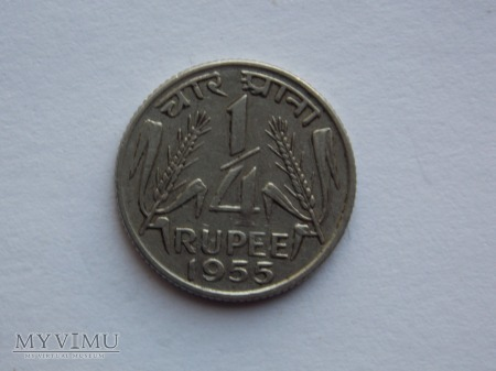 1/4 RUPI 1955-INDIE