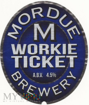 Mordue WORKIE TICKET