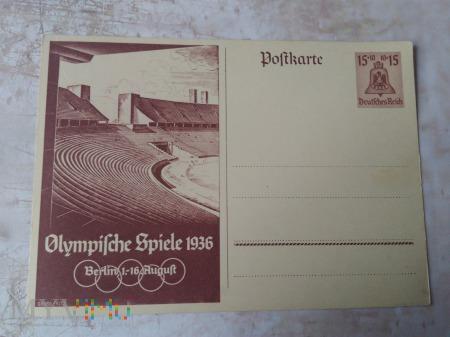 kartka pocztowa Berlin 1936