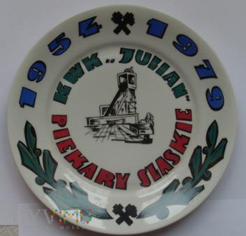 KWK Julian - ozdobny talerz porcelanowy