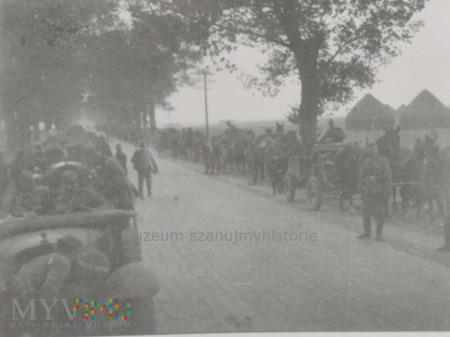 niemieckie kolumny wojskowe 1939
