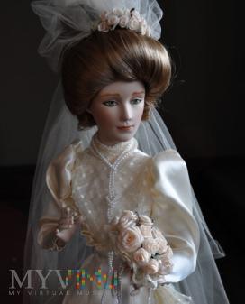 Duże zdjęcie Panna Młoda, Gibson Girl, Franklin Mint