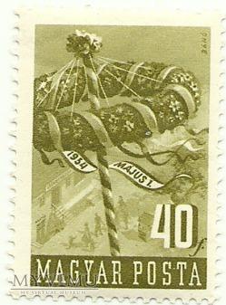 Święto 1 maja - Węgry - 1954 r.