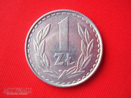 1 złoty 1982 rok