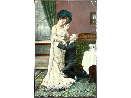 Na kolanach ! - 1908 r.