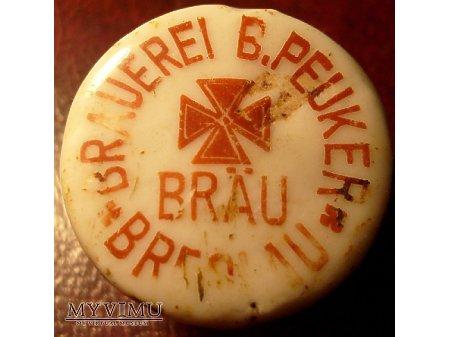 Brauerei B.Peuker Breslau -Wrocław