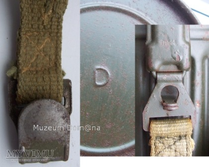 PUSZKA MASKI P.GAZ-1945r. MASKA GM-38 1942r