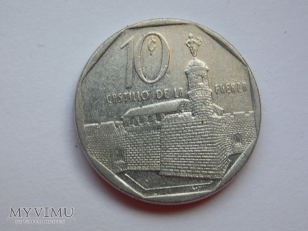 10 CENTAWOS 1994 - KUBA