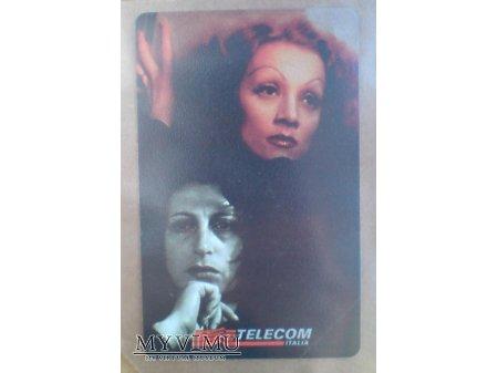 Marlene Dietrich Anna Magnani Karta Magnetyczna IT