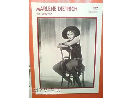 Marlene Dietrich Błękitny Anioł 1930 FRANCJA