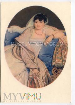 Ingres - Portret pani Riviere