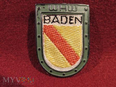 BADEN- herby okręgów granicznych- odznaka WHW