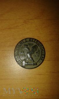 """Duże zdjęcie odznaka """"Do walki z bezrobociem NK 1931-1932"""""""