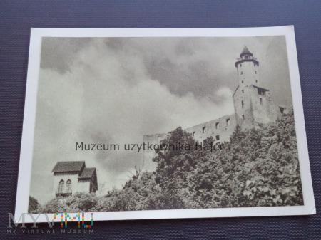 ZAGÓRZE ŚLĄSKIE Ruiny zamku Grodno wzniesionego w