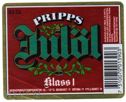 PRIPPS Julöl