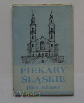 Plan miasta Piekary Śl. z 1990