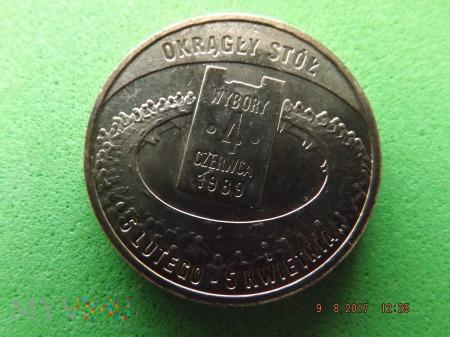 Polska 2 złote, 2009 WYBORY 4 cz. 1989