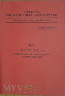 1997 - R3 Instrukcja w sprawach wypadków kol.