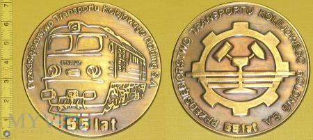 Medal kolejowy - przewozowy PTK Holding