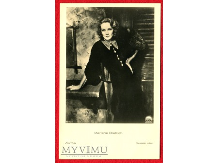 Marlene Dietrich Verlag ROSS 6675/3
