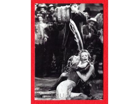 Marlene Dietrich Pocztówka mokre zapasy