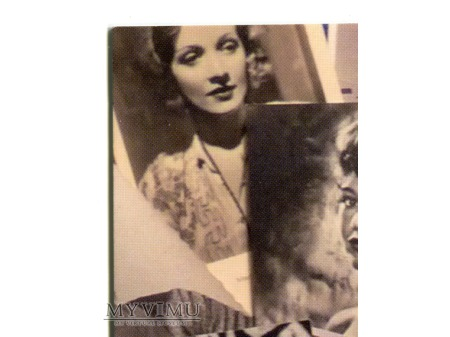 Marlene Dietrich pocztówka reklamowa Holandia