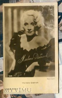 Marlene Dietrich Polonia Kraków pocztówka 126