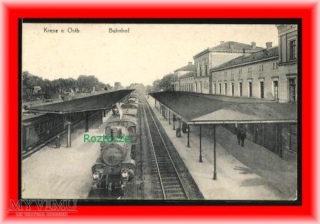 KRZYŻ Kreuz Dworzec kolejowy