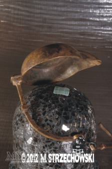 Kaganek - Olejowa lampa górnicza