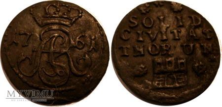 Szeląg toruński 1761 - R1