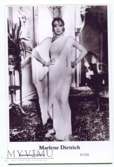 Marlene Dietrich Swiftsure Postcards 17/121