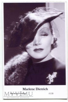 Marlene Dietrich Swiftsure Postcards 17/25