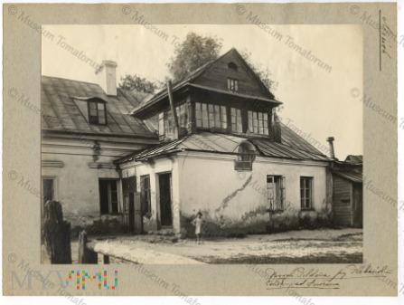 Mińsk - dom Pildona nad Świsłoczą