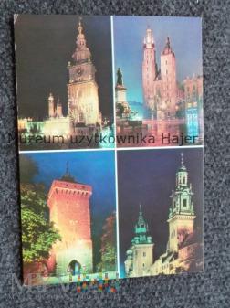 KRAKÓW Wieża Ratuszowa.Brama Floriańska.Kościół