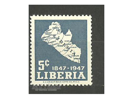 Mapa Liberii.