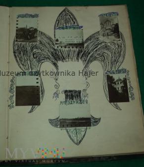 Przedwojenny pamiętnik harcerza Wołyń 1937 rok
