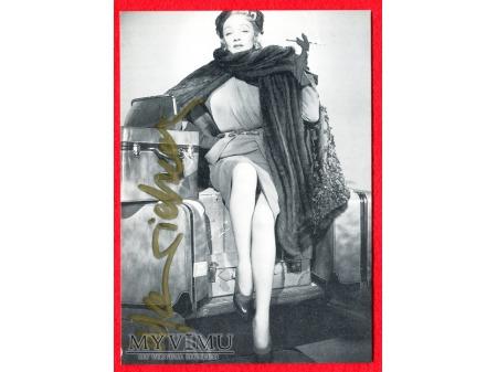 Marlene Dietrich Marlena AUTOGRAF